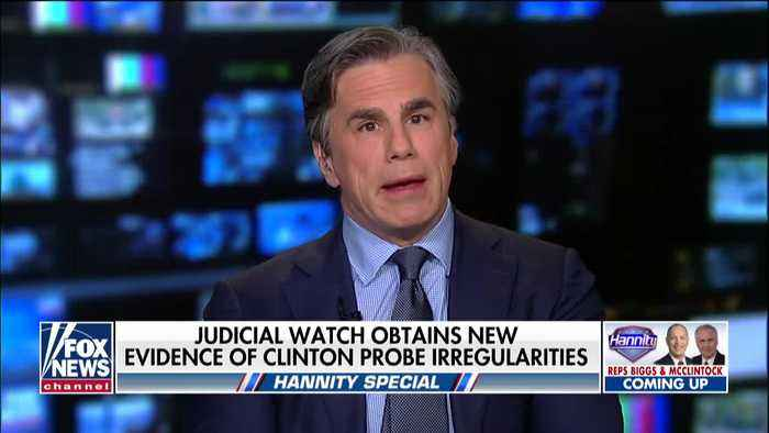 Judicial Watch president discusses new Strzok-Page emails