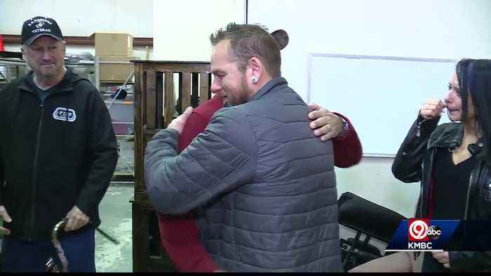 Pay It Forward: Charity blesses Veteran who blesses others