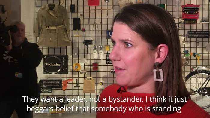 Swinson scathing about Corbyn's neutral Brexit stance