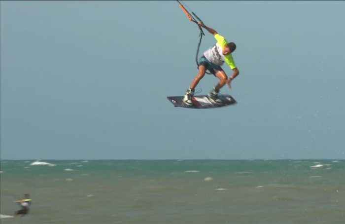 Kiteboarders hit the heights in freestyle world championship