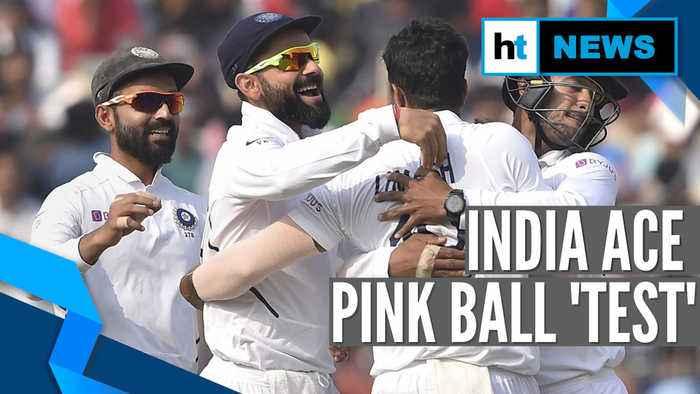 Kohli breaks MS Dhoni's record as India thrash Bangladesh in day-night Test