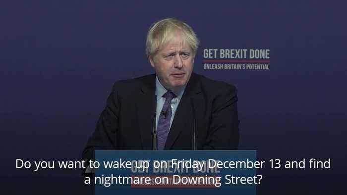 Boris Johnson: Let's go Corbyn-neutral by Christmas