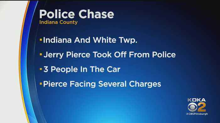 Man Leads Police On Chase In Indiana County