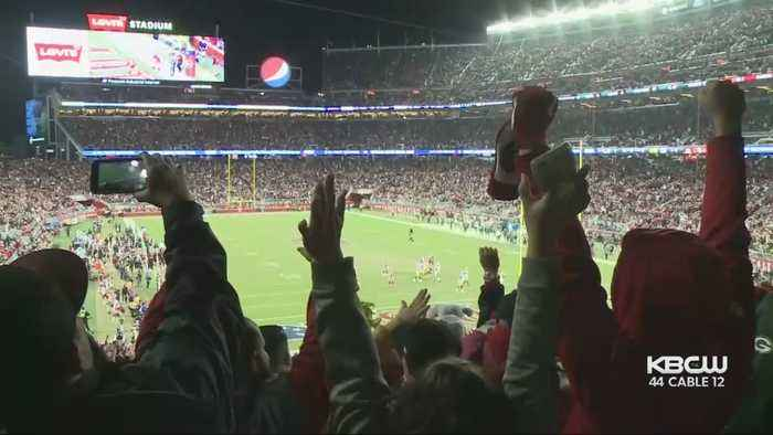 49ers Faithful Light Up Levi's Stadium During Dominant Win Over Packers