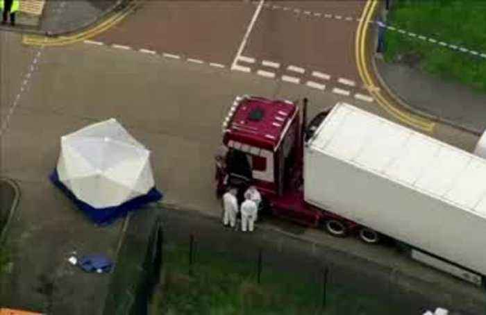 Man pleads guilty to offences in UK lorry deaths case