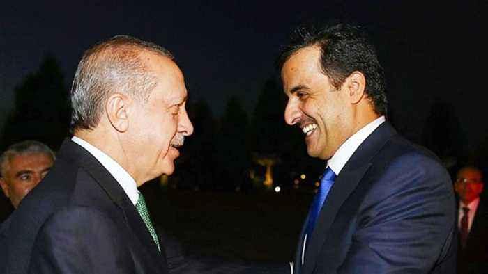 Turkey's Erdogan meets Qatar's emir to discuss regional issues