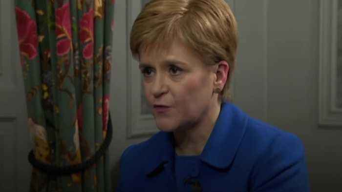 Nicola Sturgeon: An independent Scotland could rejoin EU relatively quickly