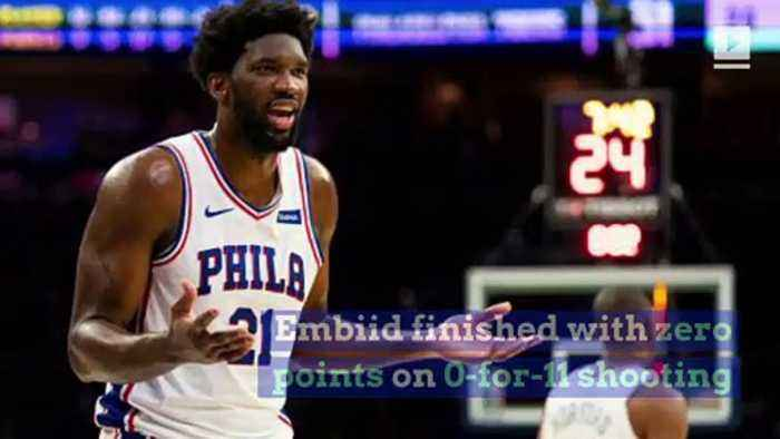 Joel Embiid Gets Mocked by Drake After Being Held Scoreless for First Time