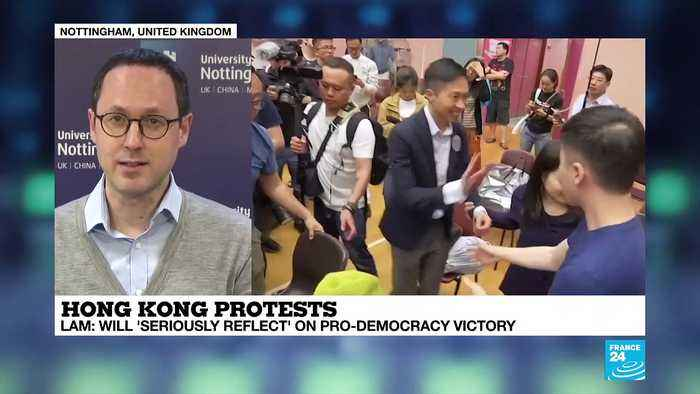 Andreas Fulda on France 24: 'Local Hong Kong election: a humiliating defeat for the pro-Beijing camp'