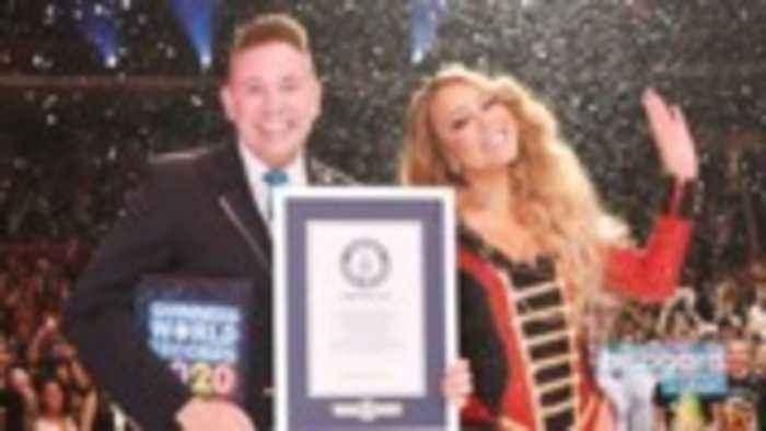 Mariah Carey Sets Three Guinness World Records | Billboard News