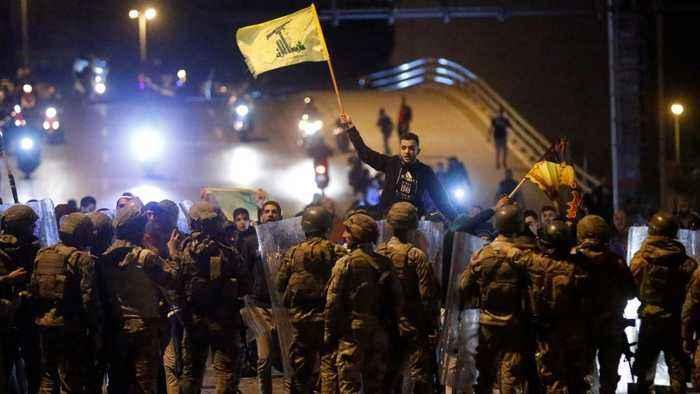 Lebanon protesters defiant despite Hezbollah confrontation