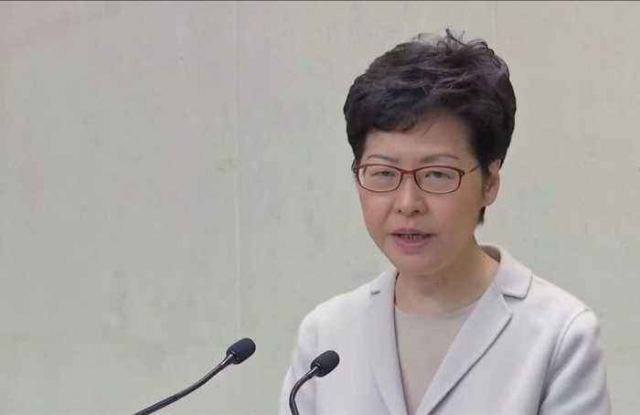 Lam admits to public discontent with her govt