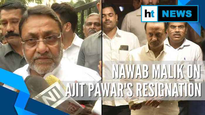 'Glad Ajit Pawar resigned from Deputy CM's post': NCP's Nawab Malik