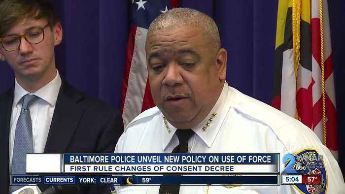 Baltimore Police unveil new policy on use of force