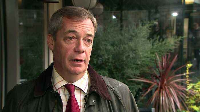 Farage: Brexit Party tearing big chunks out of Labour