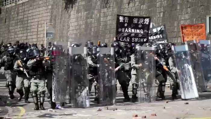 No protesters found in Hong Kong university search as clean up begins