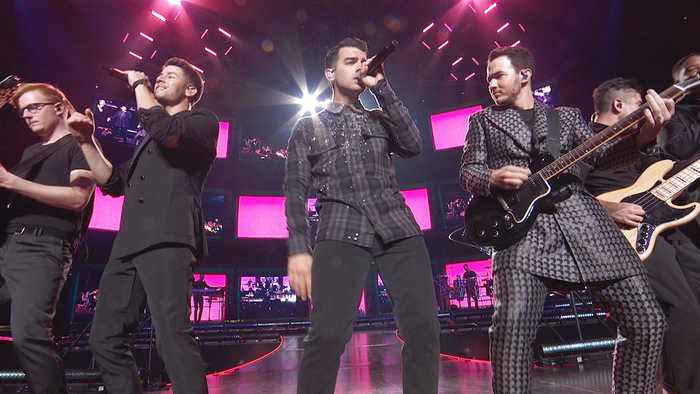 Jonas Brothers Perform 'Only Human' Live at the 2019 AMAs