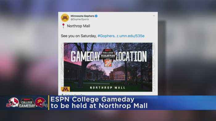 Location Set For ESPN College Gameday's First-Ever University Of Minnesota Appearance