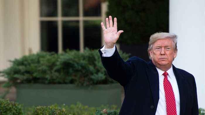 Trump Continues To Claim 'No Quid Pro' In Impeachment Inquiry