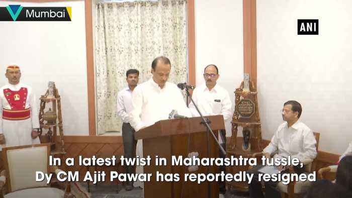 Ajit Pawar resigned as Dy CM, he is with us' Sanjay Raut