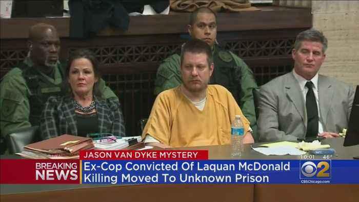 Jason Van Dyke Moved To Unknown Prison