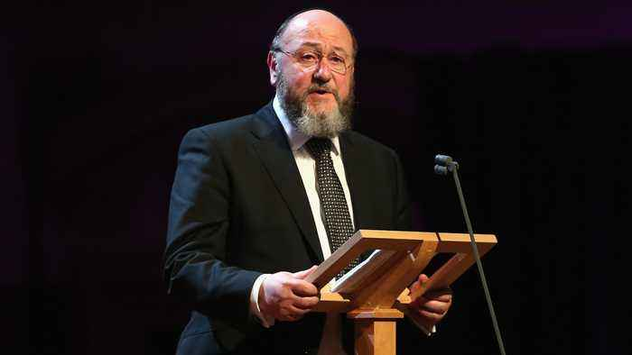 UK's chief rabbi: Anti-Semitism 'taken root' in Labour Party