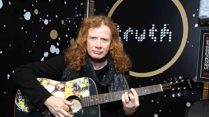 Dave Mustaine feeling great after cancer treatment