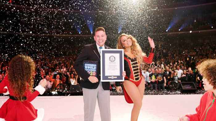Mariah Carey's Christmas song earns her three new Guiness Records