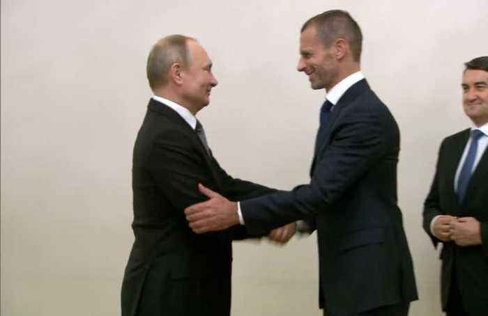 UEFA president backs Russia to be good host for Euro 2020