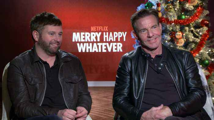Dennis Quaid On His Engagement, New Series 'Merry Happy Whatever'