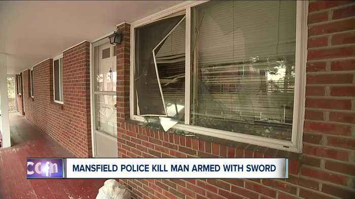 Mansfield police shoot, kill man brandishing a sword during confrontation