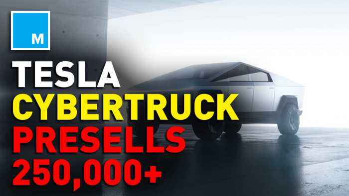Tesla's Cybertruck reaches 250k pre-orders