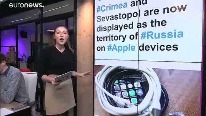 Apple Maps shows annexed Crimea as Russian — for Russian users