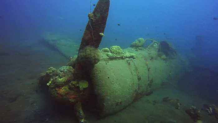 Historic WWII plane discovered 60 years after crash landing