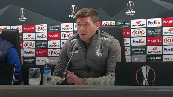 Gerrard: Away game against Feyenoord will be more difficult challenge