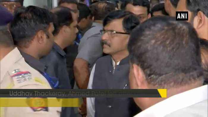 All issues have been sorted Ahmed Patel after Congress-Shiv Sena NCP meeting