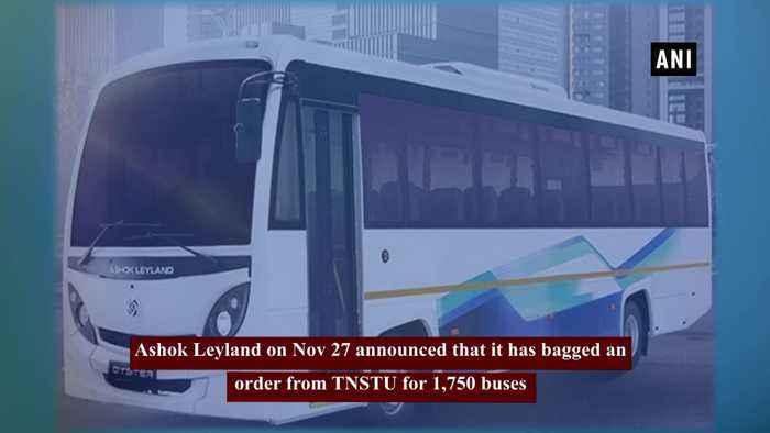 Ashok Leyland bags order for 1,750 buses from Tamil Nadu State Transport Undertakings
