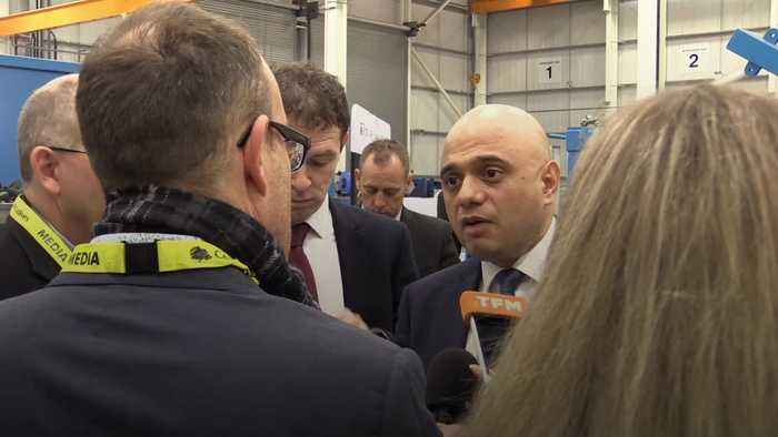 Sajid Javid defends Tory's spending plans labelled as 'not credible'