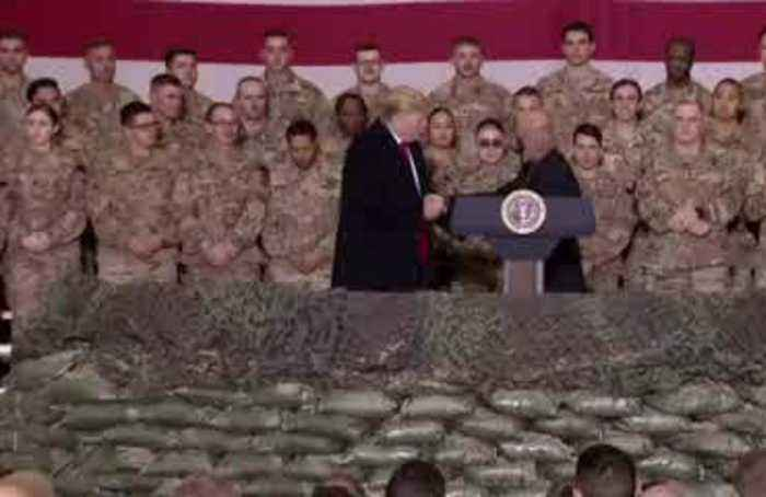 'The Taliban wants to make a deal': Trump in Afghanistan