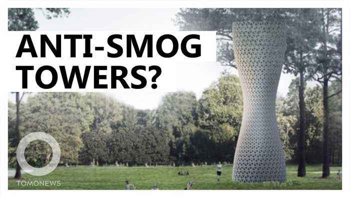 Huge purifying towers proposed to clean Delhi's air