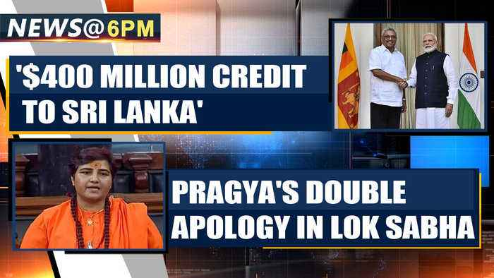 Pragya Thakur apologises twice over 'Godse Deshbhakt' remark in the Lok Sabha|OneIndia News