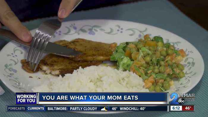 You are what your mom eats