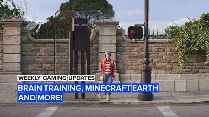 This week in gaming: Brain Training, Minecraft Earth and more!