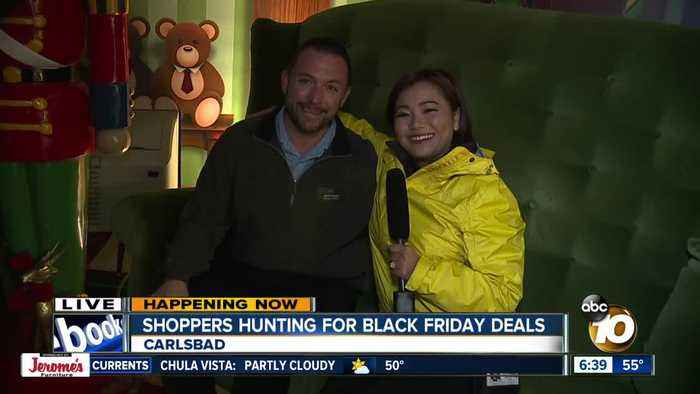 Shoppers hunting for Black Friday deals