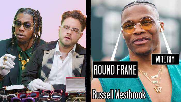 Glasses Experts Break Down Athlete Eyewear Trends ft. Trinidad Jame$