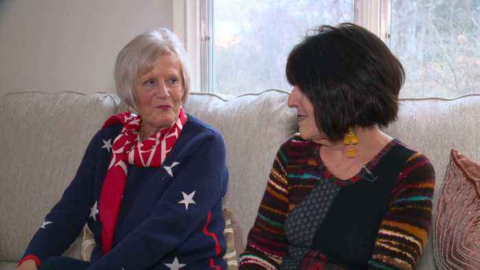 Lifelong Pen Pals Unite for First Thanksgiving Holiday Together