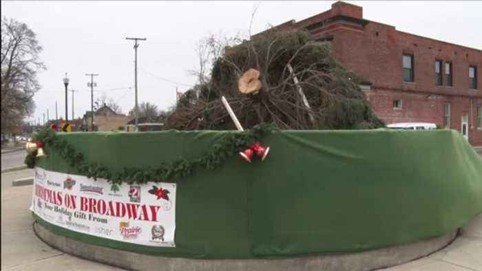 Strong Winds impact Indiana