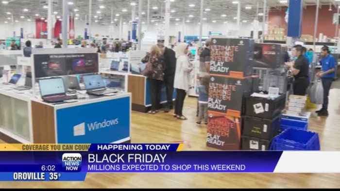 Black Friday: Over 165 million people expected to shop