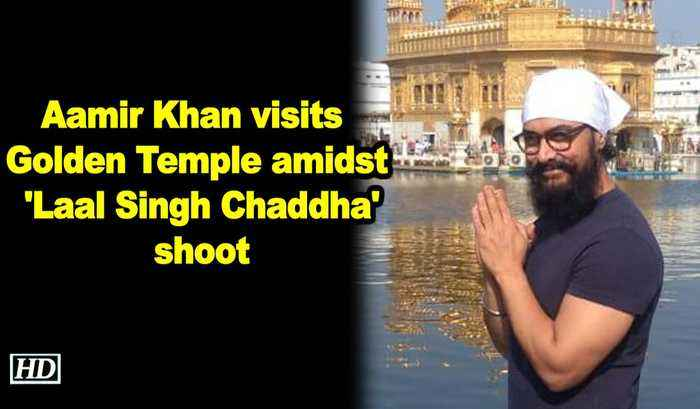 Aamir Khan visits Golden Temple amidst Laal Singh Chaddha shoot