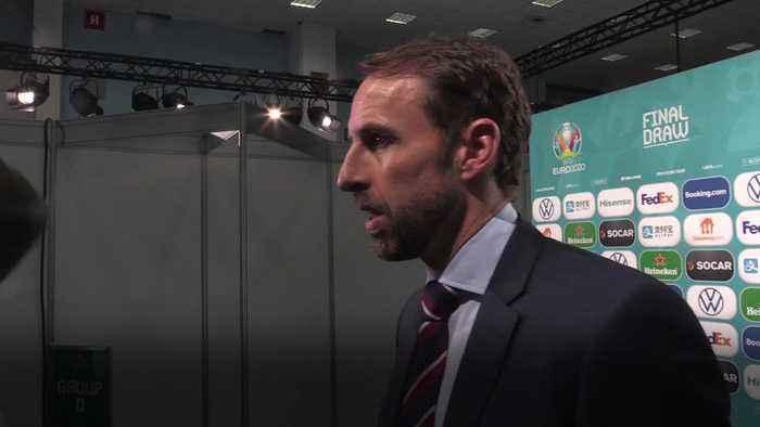 Gareth Southgate expects England to face a tough group at Euro 2020